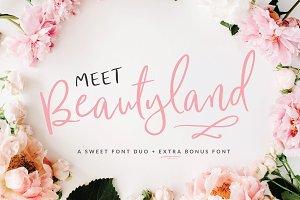 Beautyland Script Font