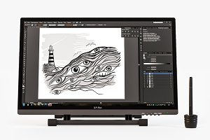 Pen display Xp Pen Artist 22 HD
