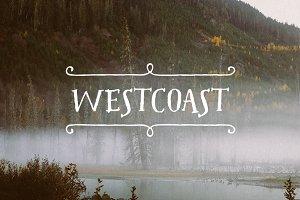 Westcoast Font Pack