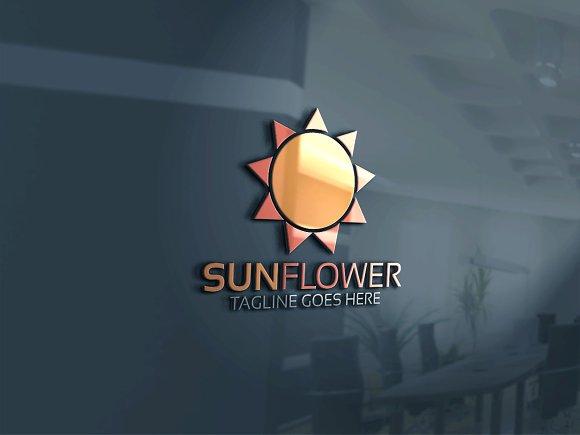 Sun Flower Logo