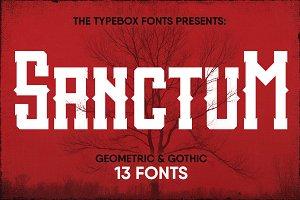 Sanctum Font Pack
