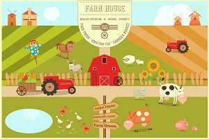 Farm House Poster