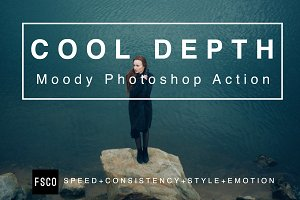 Cool Depth Moody Photoshop Action