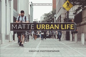 Matte Urban Life Lightroom Presets