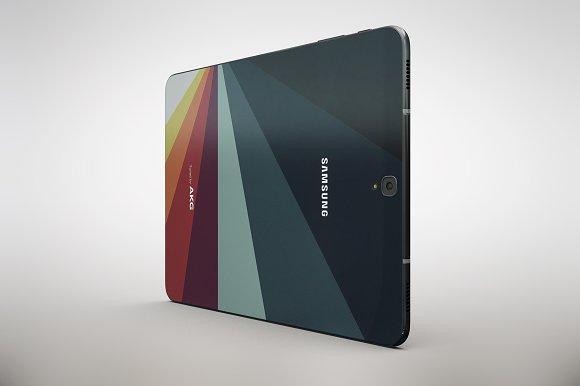 Samsung Galaxy Tab S3 App MockUp