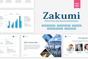 Keynote + Powerpoint Bundle - Zakumi