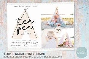 IG013 Teepee Marketing Board