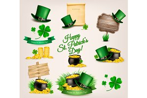Patrick's Day related icons