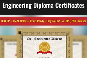 Engineering Diploma Certificates