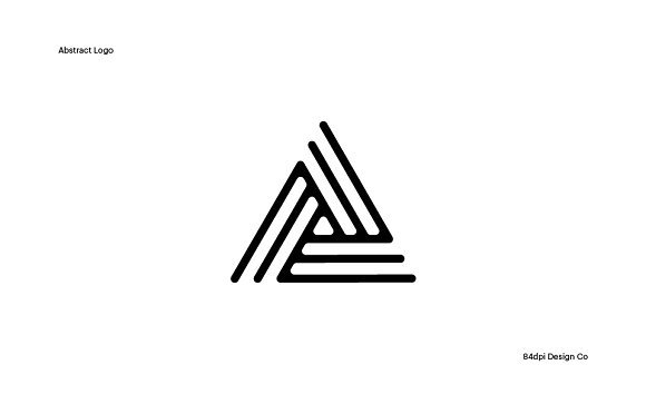 A Is For Abstract Logo Template