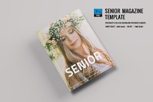 Senior Photography Magazine -V699