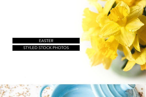 EASTER STYLED STOCK PHOTOS