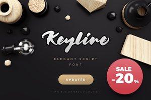 20% Off Keyline Script Font