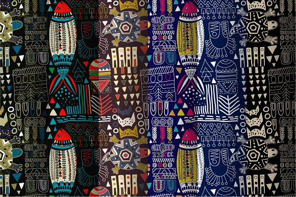 Abstract Fashion Patterns