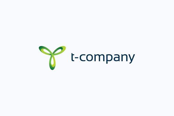 T company logo
