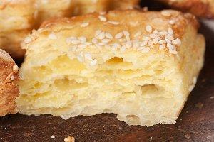 Gata cakes with sesame