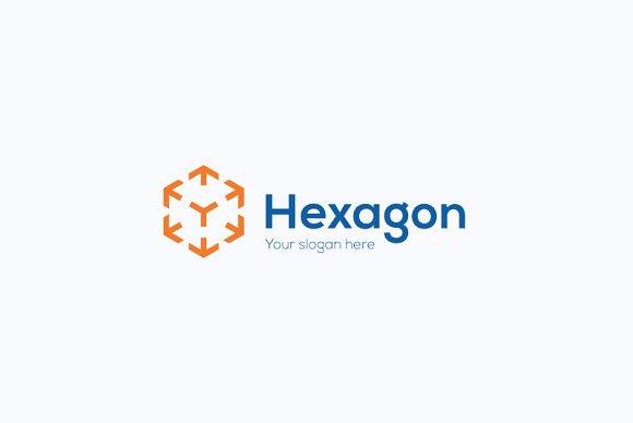 Hexagon Company Logo