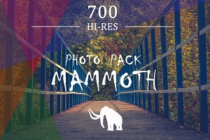 MAMMOTH PHOTO PACK - 700 PHOTOS