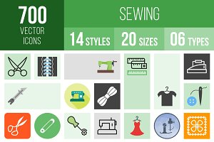 700 Sewing Icons