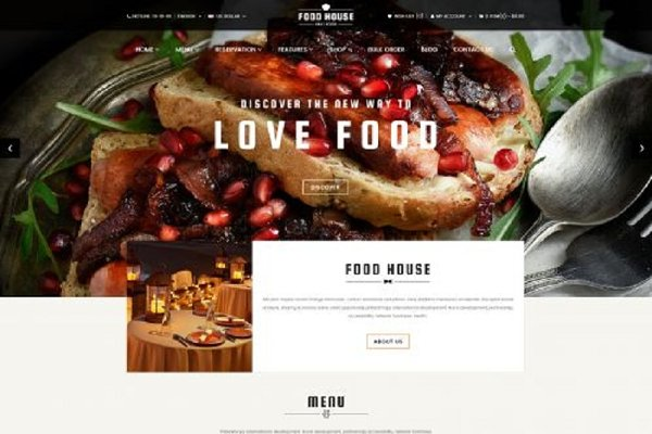 OpenCart Themes - Food Responsive OpenCart Theme