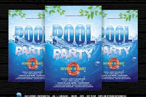 Pool Party /  Beach Party Flyer