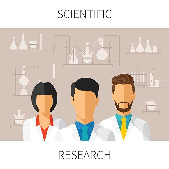 Scientific Research Concept