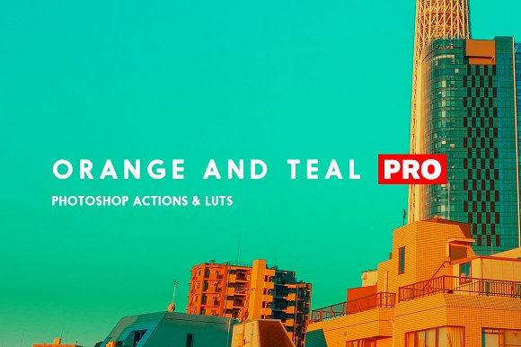 16 Orange and Teal Looks-Graphicriver中文最全的素材分享平台
