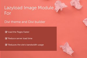 Divi Lazyload Image Module