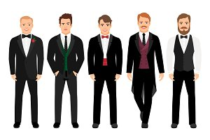 Man in suit set