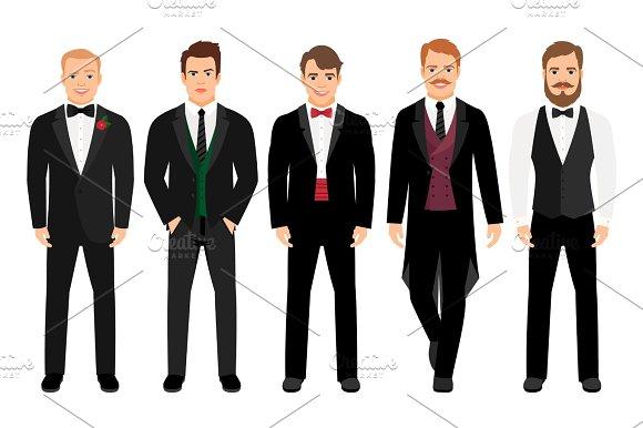 Man In Suit Set