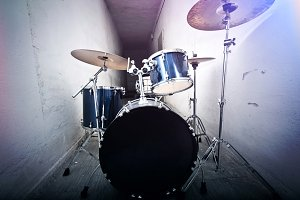 Drums. Live music concept.