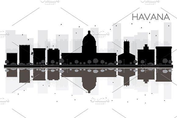 Havana City Skyline