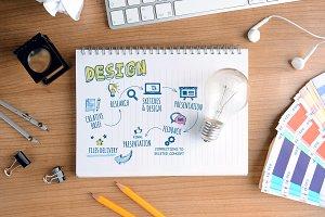 Creative concept for design process