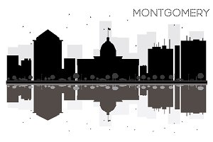 Montgomery City skyline