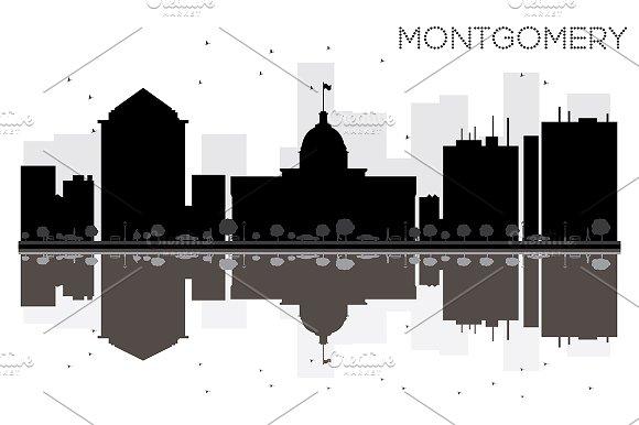 Montgomery City Skyline