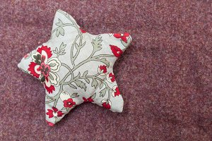 Handmade christmas decoration, Star