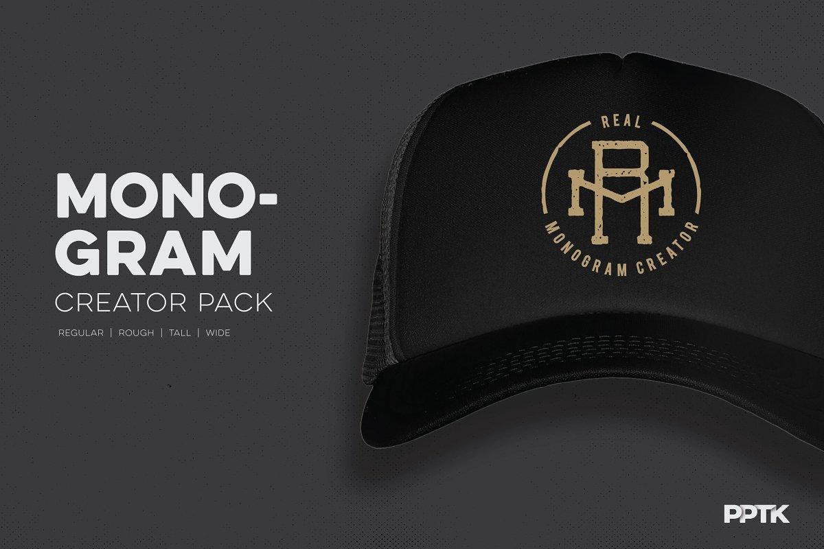Monogram Creator Pack ~ Logo Templates ~ Creative Market 1d3656c203a7