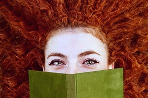 The redhead reader