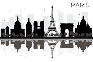 Paris City skyline