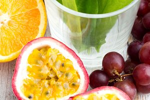 fruit and vegetables for smoothie