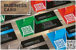 Ribbon Corporate Business Card