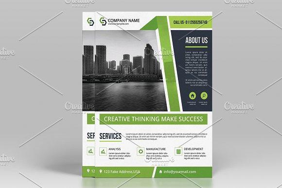 Printable Business Flyer V520