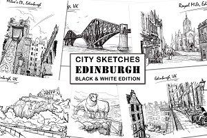 Sketching Edinburgh - Ink Edition