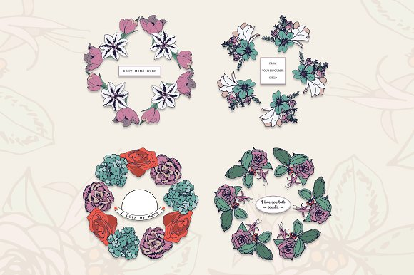 Mothers Day Text Frames