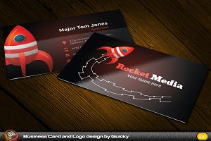 Rocket Business Card & Logo
