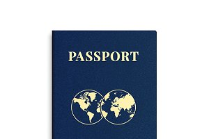 International passport cover