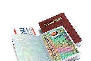 International passport & Greece visa