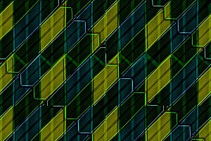 Modern Intricate Geometric Seamless Pattern