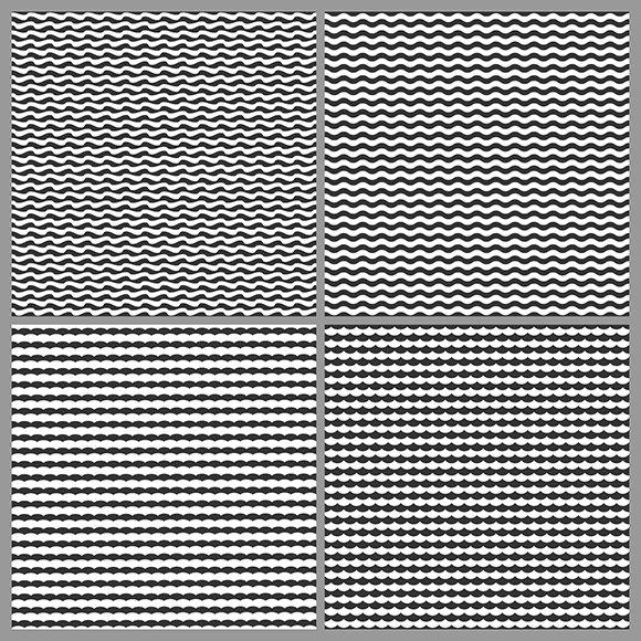 Waves minimal textures set