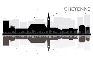 Cheyenne City skyline